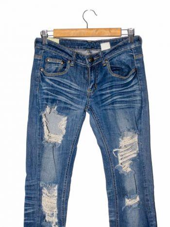 Jean de rotos azul
