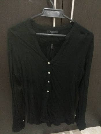 Blusa negra studio f