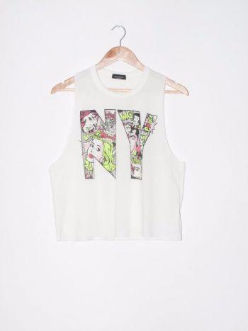 Camisa estampada Pop art