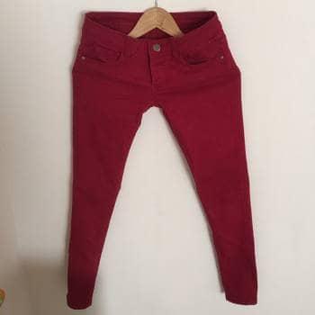 Pantalon rojo Kenzo Jeans