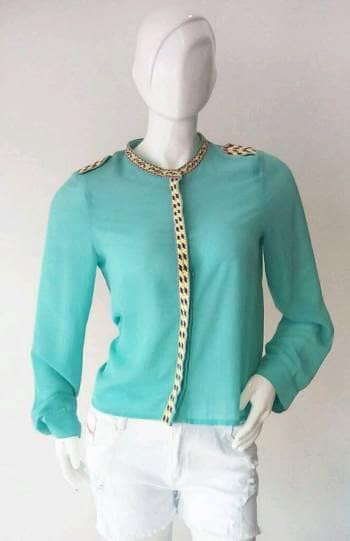Blusa talla L verde