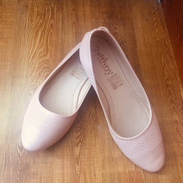 fecha de lanzamiento: claro y distintivo gran venta 2x1 Baletas color palo de rosa