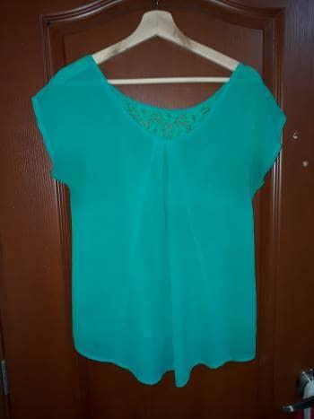 Blusa Verde Ragged
