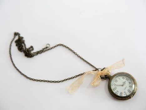 Collar Reloj de Vintage
