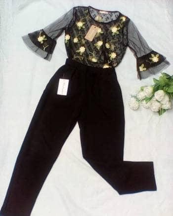 Conjunto pantalon y blusa nuevos moda tumblr