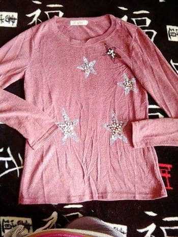 Suéter brillante